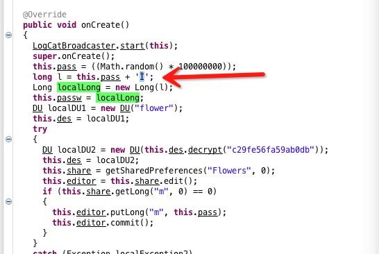 『炸他妈.apk』病毒分析以及注册算法
